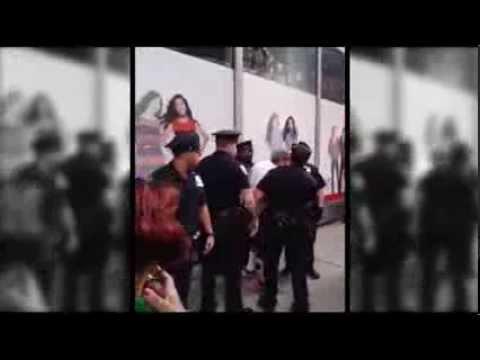 CAIR-NY Video: NJ Muslim Woman Assaulted, Called 'F**king Terrorist' at NY Pro-Democracy Rally
