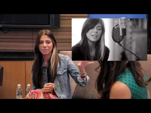 Work Reel: Interview with Christina Perri