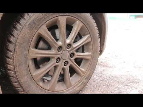 Как открутить прикипевшую гайку на колесе