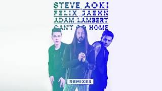 Steve Aoki & Felix Jaehn - Can't Go Home feat. Adam Lambert (Crystal Lake Remix) [Cover Art]