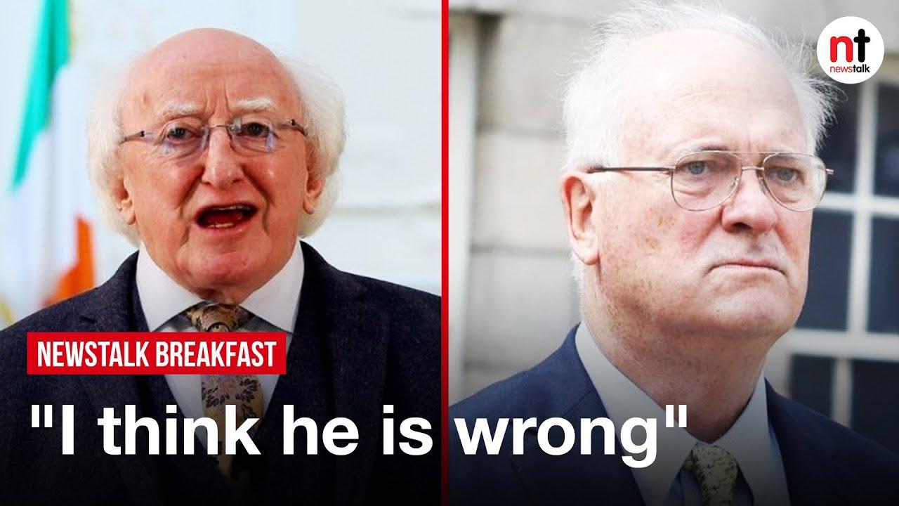 Download President Higgins 'wrong' not to attend Northern Ireland centenary - John Bruton