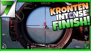 KRONTEN & The7WG INTENSE FINISH HIGH PING GAME!! | PUBG Mobile
