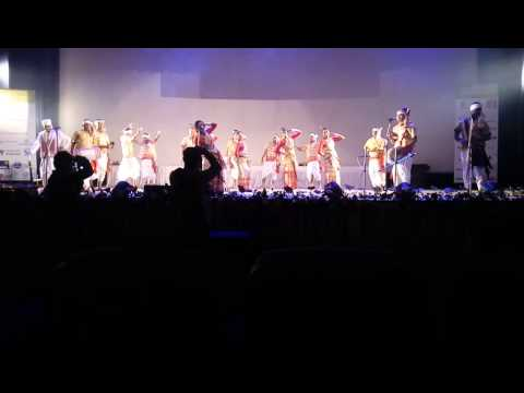 Bihu Dance performed by IITG fraternity on