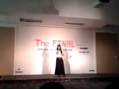 Butterfly - Japanese Singing Contest 2012 (The FINAL)