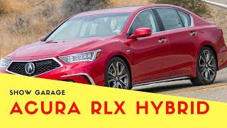 (NEW ) 2018 Acura RLX Hybrid -- Beakless and Better for It
