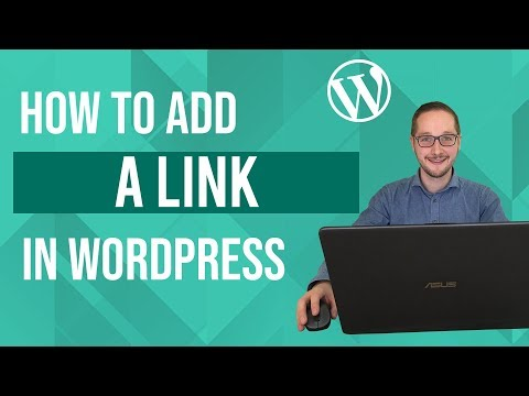 How to add a link in Wordpress Tutorial thumbnail