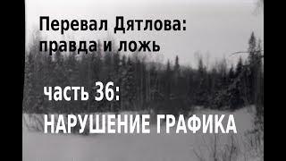 Перевал Дятлова, правда и ложь. Вып. 36: Нарушение графика