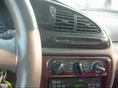 2000 Mercury Mystique Issues Youtube