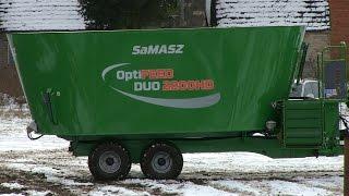 Wóz paszowy SaMASZ OptiFEED DUO 2200HD