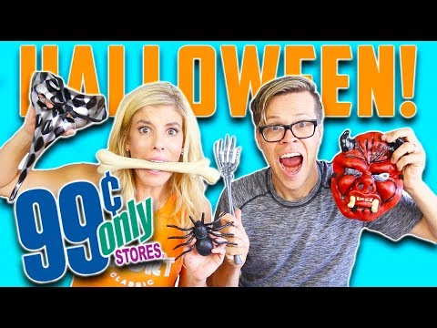 99 CENT STORE HALLOWEEN CHALLENGE! (DAY 287)