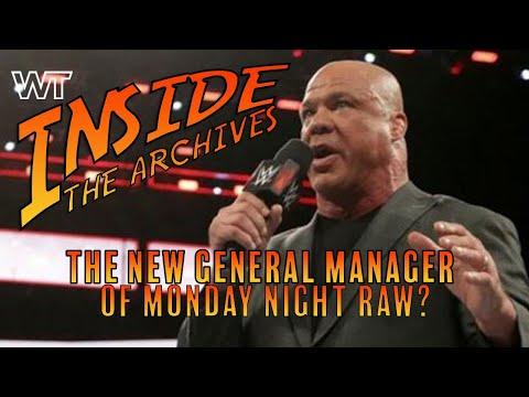 Kurt Angle - Monday Night Raw New General Manger