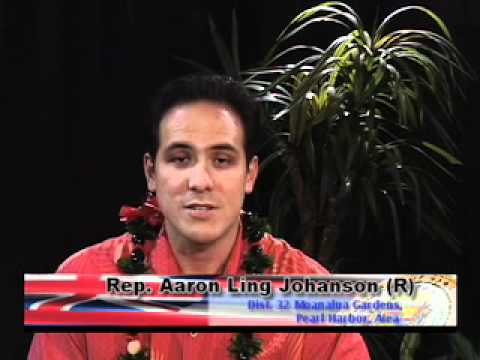 Representative Aaron Ling Johanson introduction to the House of Representatives