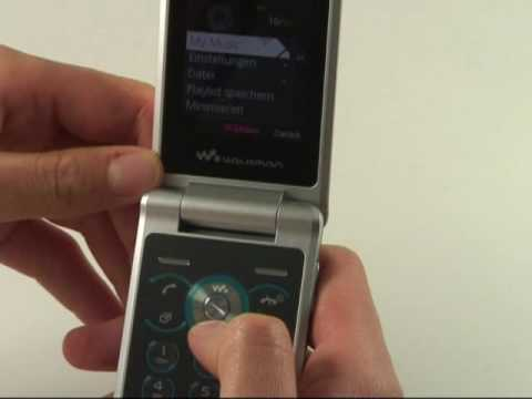 Sony-Ericsson W508 Test Musikplayer
