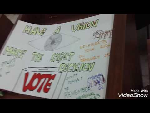 | National Voters DaY | PosterS | SLoGanS |