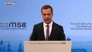 مدفيديف: يجب عدم تقسيم سوريا