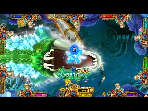 copy version of  ocean king 3 monster awaken igs fishing gambling games machines for sale