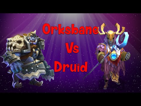 Castle Clash: Druid Or Orksbane? Lets Compare