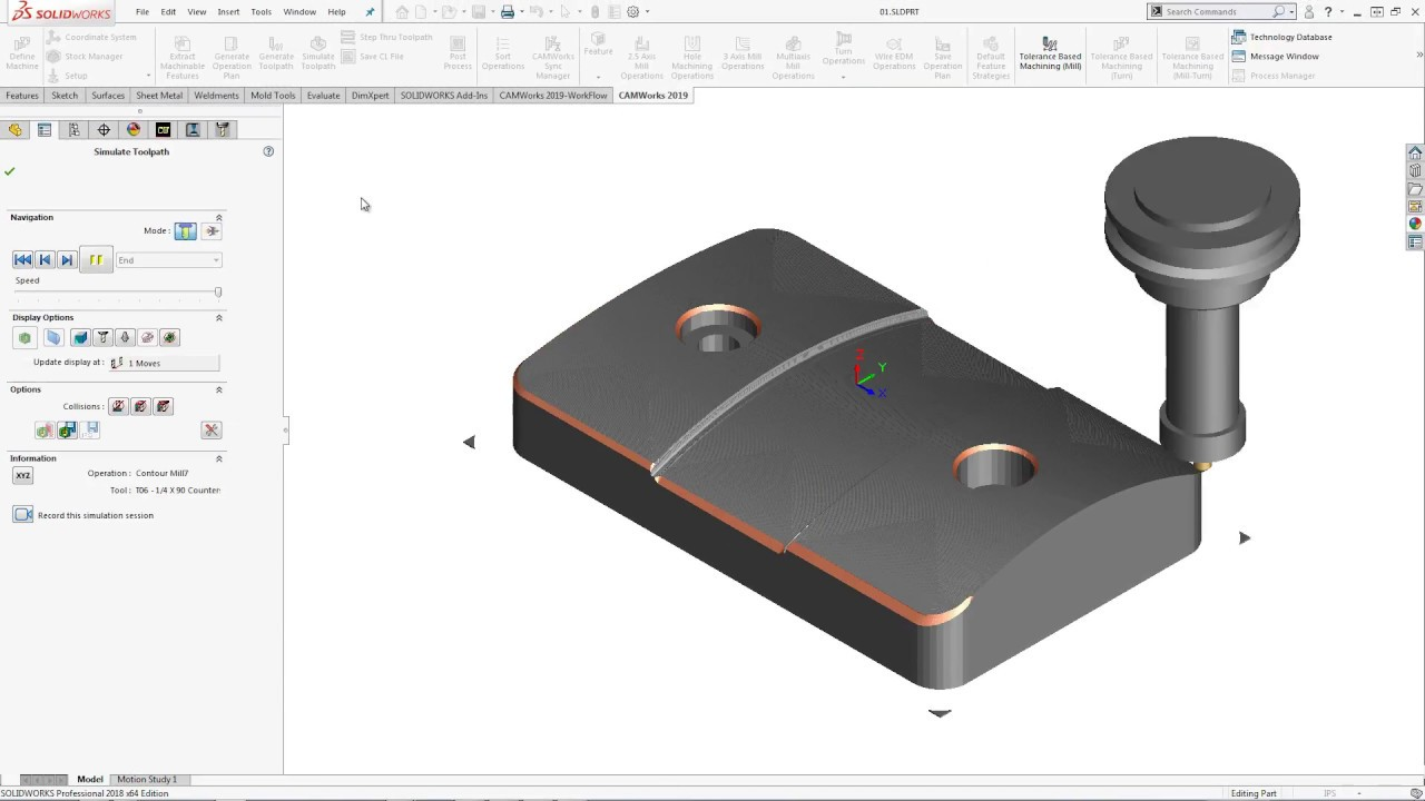 CAMWorks 2019 | Most Advanced CAM Software for SOLIDWORKS