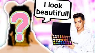 JAMES CHARLES PALETTE CHOOSES THE CUTEST OUTFIT FOR ME // Roblox Royale High
