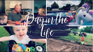 DAY IN THE LIFE | WHATS BEEN GOING ON? | HOUSE CHANGES | WE GOT A POOL!