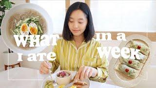What I Eat Iฑ A Week (Healthy + Realistic)