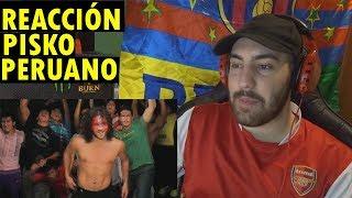 Pisko - Peruano (Video Oficial) (REACCIÓN)