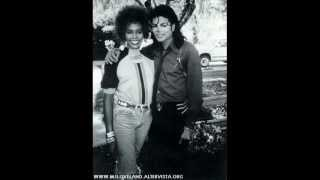 Michael Jackson and Whitney Houston - I look to you (in studio)