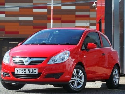 2009 vauxhall corsa 1 2 16v active 3dr easytronic auto in red youtube. Black Bedroom Furniture Sets. Home Design Ideas