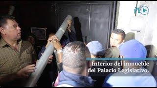 Así fue el ambiente dentro del Congreso durante las protestas | Prensa Libre