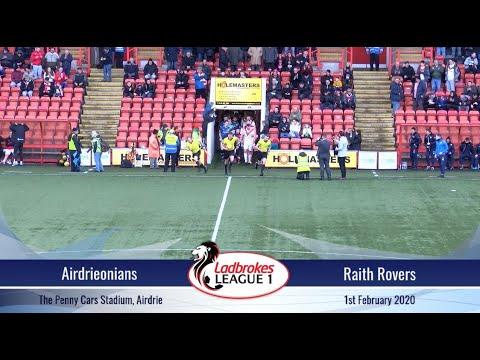 Airdrieonians Vs Raith Rovers