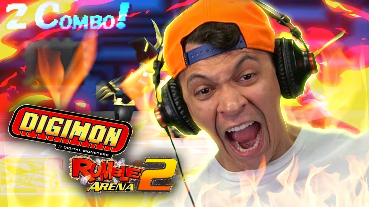MUITO RAGE E NOSTALGIA NO DIGIMON DE PS2!