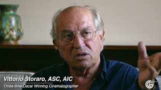 """Modern Challenges to Cinematographers"" with Vittorio Storaro, ASC, AIC"