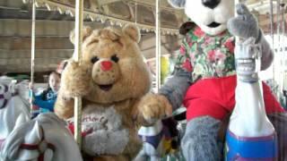 Tenderheart Bear Rides Carousel with Wonder Bear