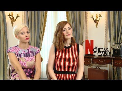 Ana Fernández y Ana Polvorosa hablan de 'Las chicas del cable'