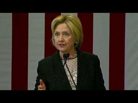 Clinton makes major economic speech in Ohio