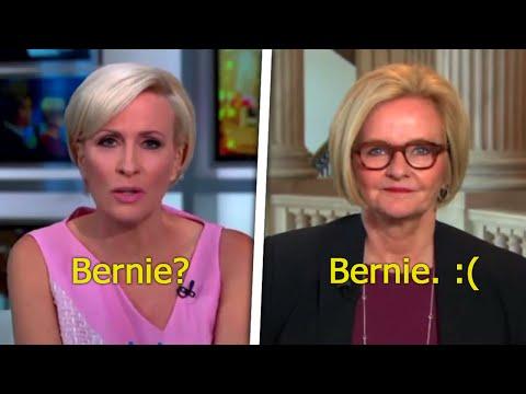 Hillary Goon Bashes Bernie Sanders