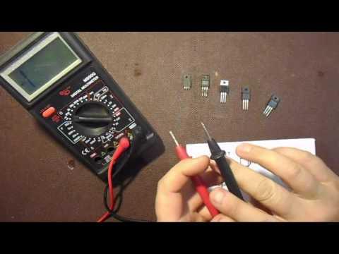 Как проверить мощный MOSFET полевой транзистор на исправность!