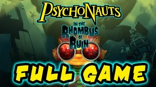 Psychonauts in The Rhombus of Ruin Walkthrough FULL GAME (PS4 VR) No Commentary