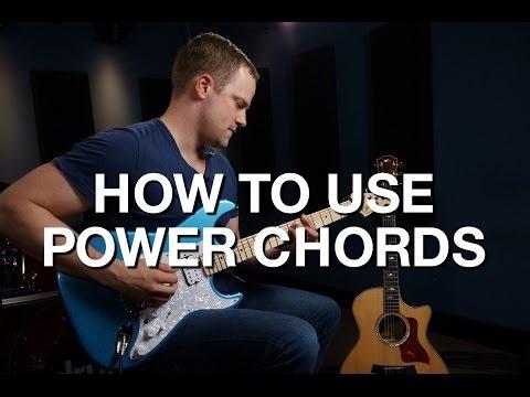 How To Use Power Chords - Rhythm Guitar Lesson #3