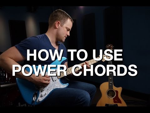 How To Use Power Chords - Rhythm Guitar Lesson #3