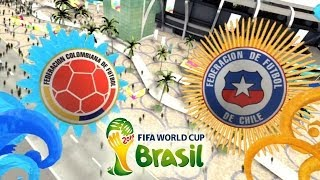 Video FIFA 2014 World Cup Brazil: Colombia vs Chile download MP3, 3GP, MP4, WEBM, AVI, FLV Juli 2017