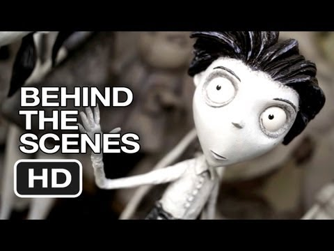 Frankenweenie Behind The Scenes Starts With Drawing 2012 Tim Burton Movie Hd Youtube