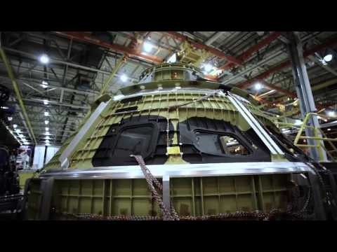 Building NASA's Orion Spacecraft In 2016 - Behind The Scenes Look | Video