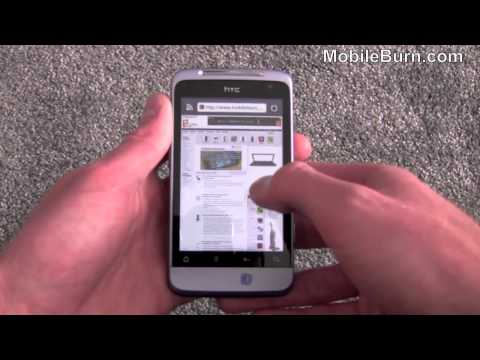 HTC Salsa Facebook smartphone video review - part 2 of 2