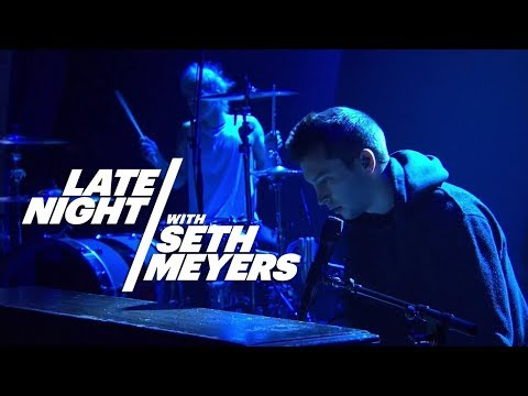 twenty one pilots  Car Radio  at Late Night with Seth Meyers 2014 HD