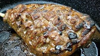 Leg of Lamb with Sweet Chili Glaze - PoorMansGourmet