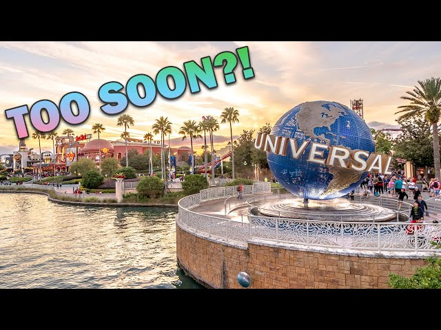 Universal Orlando Resort Official Reopening! Is it Too Soon?!