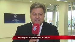 Die Aufstellung des FC Bayern gegen Barcelona präsentiert von Markus Hörwick