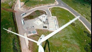 חוות הרוח בגלבוע | Israel In 60 seconds | AirWorks 4K Aerial Photography