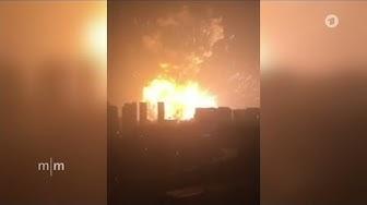 Explosion in Tianjin: Katastrophe in chinesischer Hafenstadt